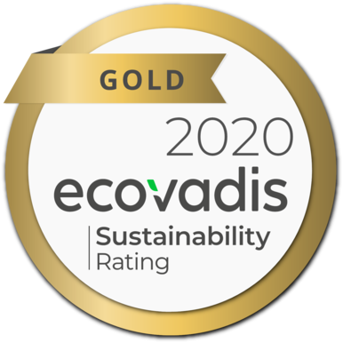 ecovadis gold reward logo